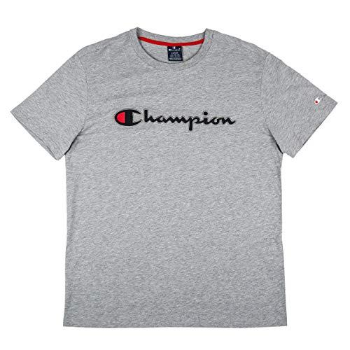 Champion Herren Crewneck 212070 T-Shirt, Grau (Oxgm Em006), XX-Large