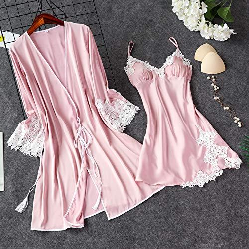Handaxian Pijama de Seda de Hielo con Mejores Ventas Vestido
