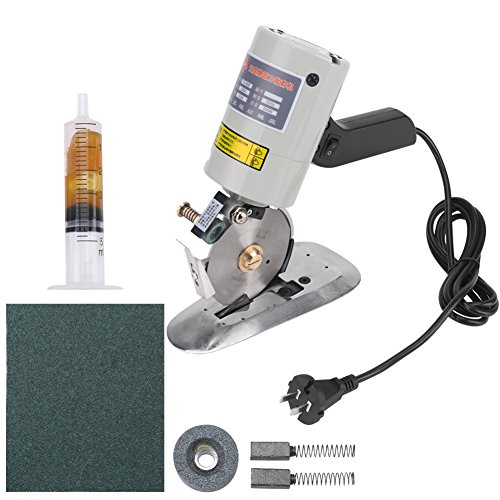 Lowest Price! Electric Cloth Cutter, Octagonal Knife Cloth Cutting Machine Round Knife Rotary Blade ...