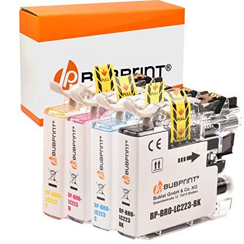 4 Bubprint Druckerpatronen kompatibel für Brother LC-223 LC-225 LC-227 XL für DCP-J4120DW DCP-J562DW MFC-J4420DW MFC-J4620DW MFC-J4625DW MFC-J480DW MFC-J5320DW MFC-J5620DW MFC-J880DW Multipack
