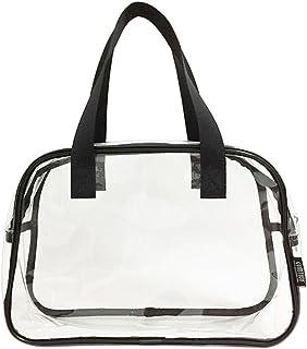 Clear PVC zipper toiletry bag
