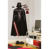 RoomMates RMK1589SLG Star Wars Classic Vadar Peel and Stick Giant Wall Decal,Black