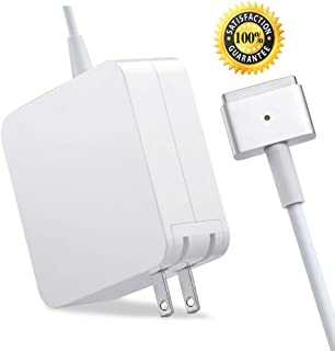 Mac Book Pro Charger, AC 60W Magsafe 2 T-Tip Power Adapter Charger Replacement for Mac Book Pro 13 Inch (for MacBook Pro Released After 2012)