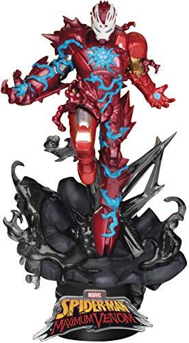 Beast Kingdom Maximum Venom: Iron Man DS-066 D-Stage Statue, Multicolor
