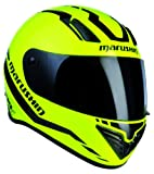 Marushin 999 RS ET Start-Up Casco Integral para Motoristas, Amarillo/Negro, M