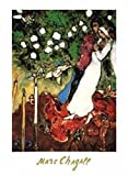 1art1 Marc Chagall - Die DREI Kerzen Poster Kunstdruck 70 x