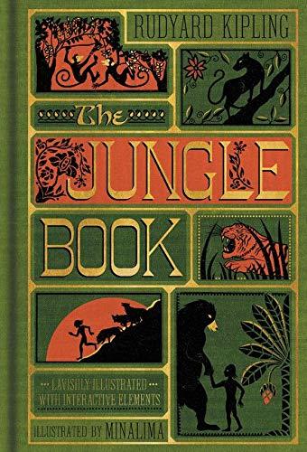The Jungle Book (Illustrated with Interactive Elements): Rudyard Kipling (Harper Design Classics)