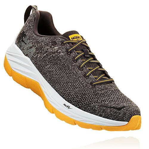 HOKA ONE ONE Men's Mach Running Shoe, Nine Iron/Alloy, Size 9.0