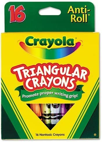 Crayola Products - Triangular free Soldering Crayons Assorted 16 Bo