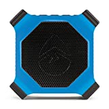 ECOXGEAR EcoEdge GDI-EXEDGE302 Rugged Waterproof Floating Portable Bluetooth Wireless 20 Watt Smart Speaker with Built-in Bottle Opener (Electric Blue)