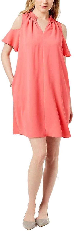 Charter Club Seamed ColdShoulder Dress