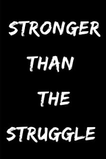 Stronger Than the Struggle: Daily (Undated) Planner for the African American/People of Color