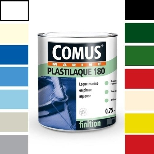 PLASTILAQUE 180 - COMUS - Tous supports Phase aqueuse Bleu Piscine 110 2.50Litre