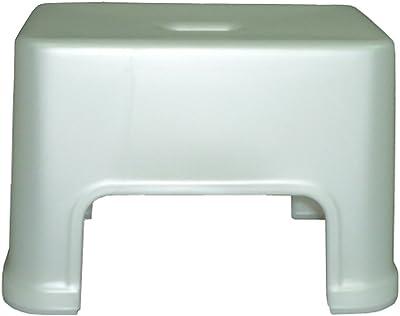 DESIGN 風呂椅子S型20cm ホワイト