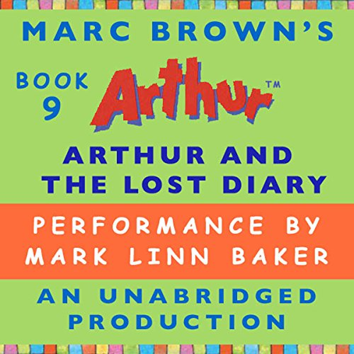Arthur and the Lost Diary audiobook cover art