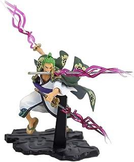 LH-MTZH EinteiLig Einteilig Drei Schwerter Sauron Wano Land Kimono Combat版Szene Boxed Anime Figur Figur Puppe Modell Samml...