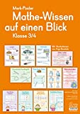 Merk-Poster - Klasse 3/4 - Mathe-Wissen auf einen Blick