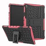 RZL Pad y Tab Fundas para Huawei MediApad M5 Lite Tableta de precaución Universal de 10.1 Pulgadas para Huawei Mediody M5 Lite 10.1 BAH2-L09 BAH2-W09, BAH2-W19 (Color : Rose)