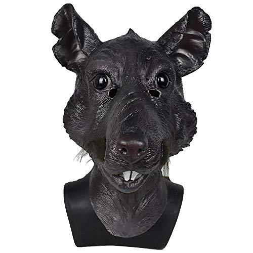 XYDBB Maschera Maschera in Lattice con Testa di Topo Mouse Costume da Film Mostro Costume da Festa in Maschera Splinter Maschera con Testa di Animale Come Mostrato 1