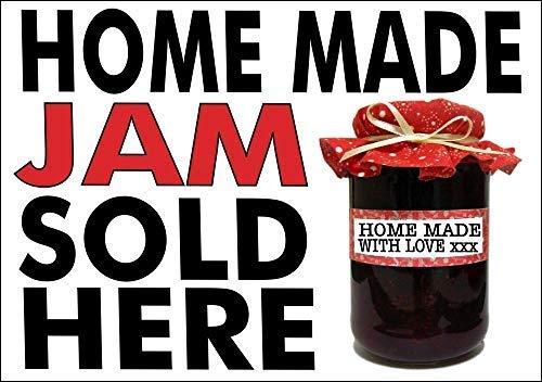 LynnYo22 Home Made Jam Verkocht Hier Metalen Teken 12x16