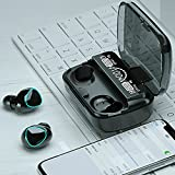 Double TWS Bluetooth Earphones 2000mAh Wireless Headphones with Microphone 3D Touch Contorl Earbuds