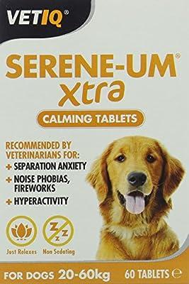 VetIQ Serene-UM Xtra Calming Tablets (60 Tablets)