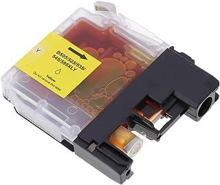 gazechimp Cartucho de Tinta de Reposição para Impressora DCP-J100 / J105 / MFC-J200 Amarelo