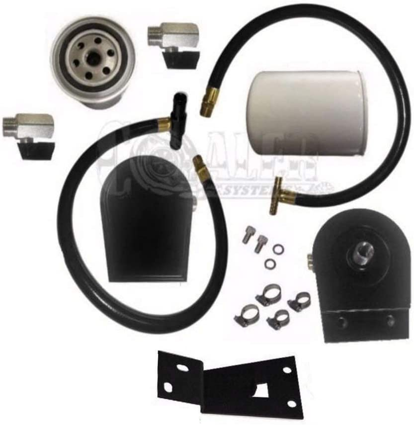 DIESEL COOLANT FILTRATION FILTER KIT 03 04 PO FORD 06 07 05 Year-end gift FITS Finally popular brand