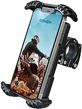 Beemoon Universal Phone Bike Mount Holder for Motorcycle Handlebars