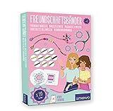Smowo Set para Tejer Pulseras de la Amistad - Crear Pulseras de la Amistad para niñas - Incluye Manual y Videos de Instrucciones