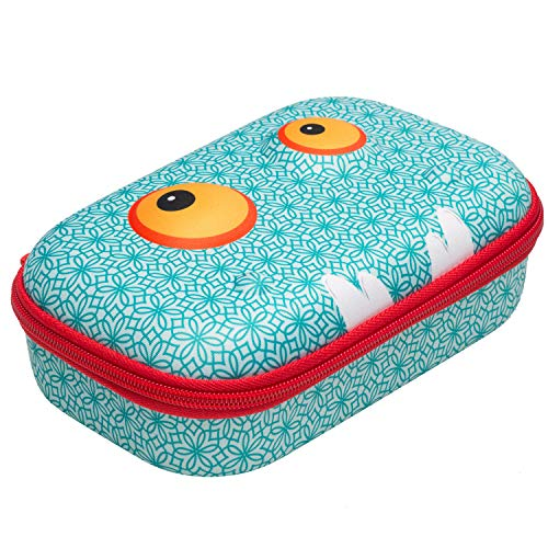 ZIPIT Beast Pencil Box/Storage Box, Blue