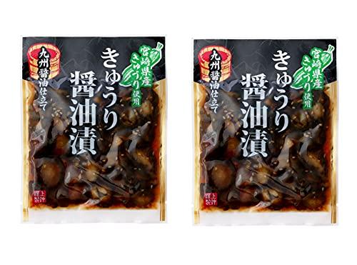 上沖産業 宮崎産きゅうり醤油漬 100g×2袋