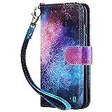 ULAK Funda iPhone 6/6S, Libro de Cuero Impresión con Tapa y Cartera, Elegante PU Leather...