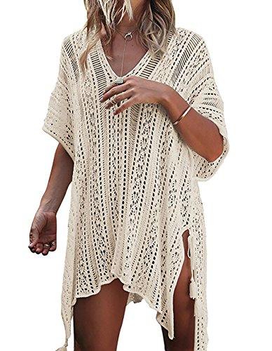 Beskie Dames Strandkleding Badpak Hollow Out Badpak Oversized Cover Up Biniki Badmode Jurk Zomer