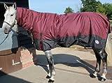 Rhinegold Aspen Winterdecke für Pferde, mit Halsteil