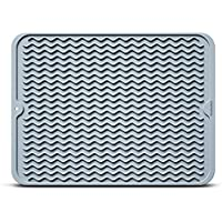 HowiseAcc Silicone Dish Drying Mat For Kitchen Counter