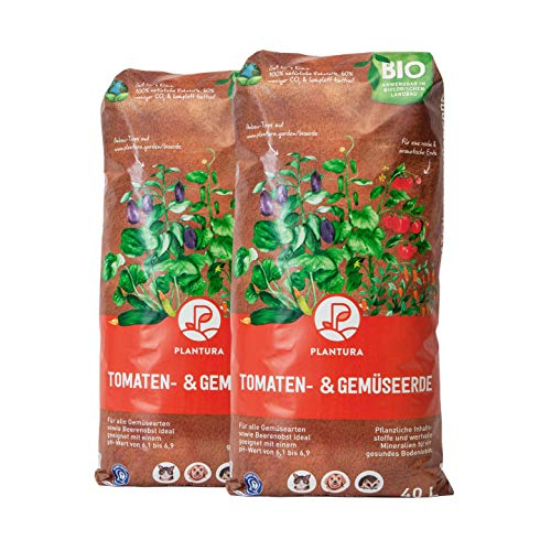 Plantura Bio Tomaten- & Gemüseerde, 80 L, torffrei & klimafreundlich, vorgedüngt