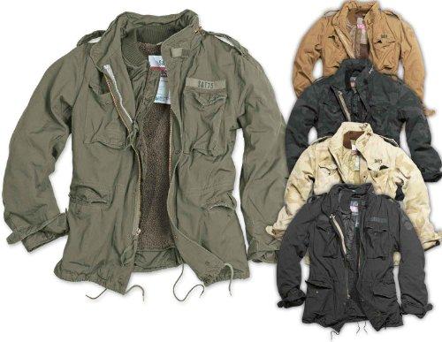 Surplus Vintage Jacke M65 Regiment, Grš§e M, beige