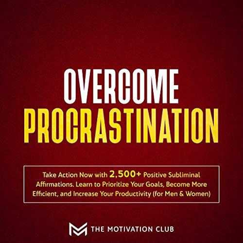 『Overcome Procrastination』のカバーアート