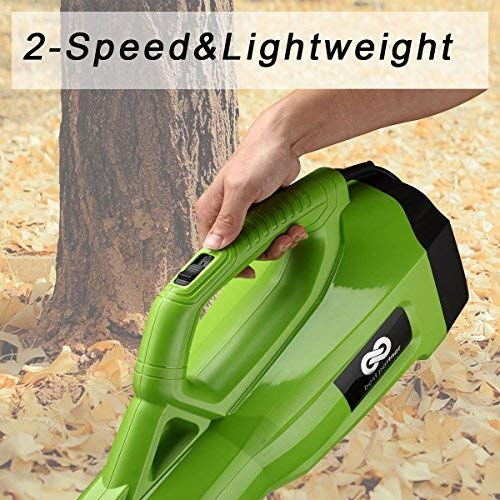 best partner Turbine Powerful Leaf Blower, Ergonomic Handle Design, 2-Speed Control with 120MPH and 465 CFM Output