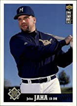 1997 Collector's Choice #370 John Jaha MLB Baseball Trading Card