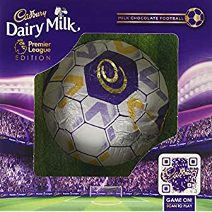 cadbury dairy milk hollow chocolate football premier league edition, 256 g Cadbury Dairy Milk Hollow Chocolate Football, 256 g 51AUxVR5jYL