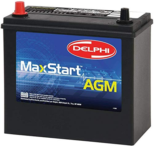 Delphi BU9051P MaxStart AGM Premium Automotive Battery, Group Size 51P