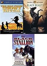 Stallion Adventures Horse Lovers Triple Bundle - Black Beauty, Man from Snowy River & Black Stallion Further Adventures 3-DVD Set