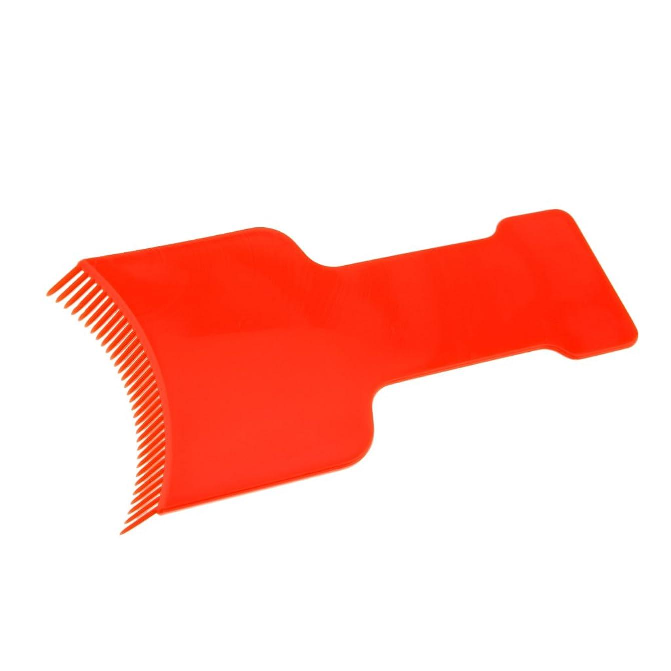 鰐サンダーを通してDYNWAVE 染色ボード 染色櫛 プレート ヘアダイコーム ヘアダイブラシ ヘアカラーリング用品