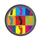 CANDURE CafePress 'Pop-Art Wanduhr, Standard, mehrfarbig