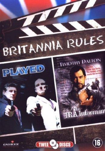 The IRA Informant / Played - 2-DVD Set ( Gangstar / Field of Blood ) ( Gangstar / Johnny Loves Suzie ) [ Origine Olandese, Nessuna Lingua Italiana ]