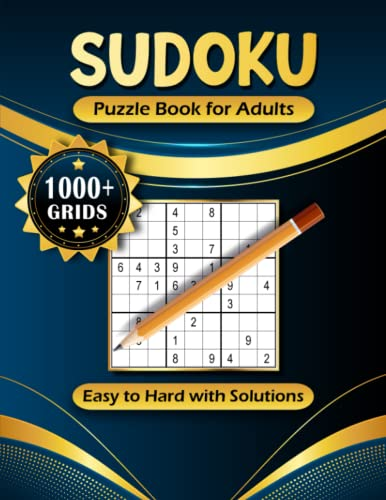 Compare Textbook Prices for 1000+ Sudoku Puzzles for Adults: A Book With More Than 1000 Sudoku Puzzles from Easy to Hard for adults  ISBN 9798527399011 by Publishing XR, Nova