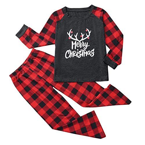 Pijamas De Navidad Familia Conjunto Mujer Hombre Niños...