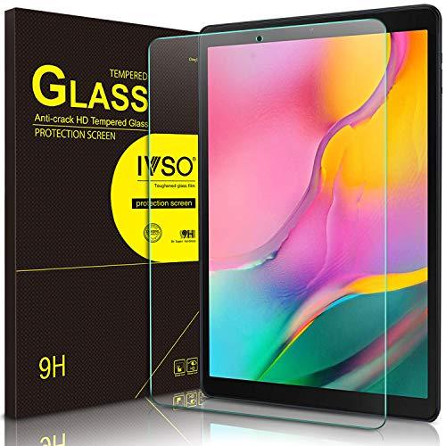 IVSO Bildschirmschutz für Samsung Galaxy Tab A 10.1 2019 T515/T510, 9H Festigkeit, 2.5D, Bildschirmfolie Schutzglas Bildschirmschutz Für Samsung Galaxy Tab A 2019 T515/T510 10.1 Zoll, (1 x)
